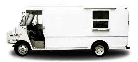 Lettrage Food Truck